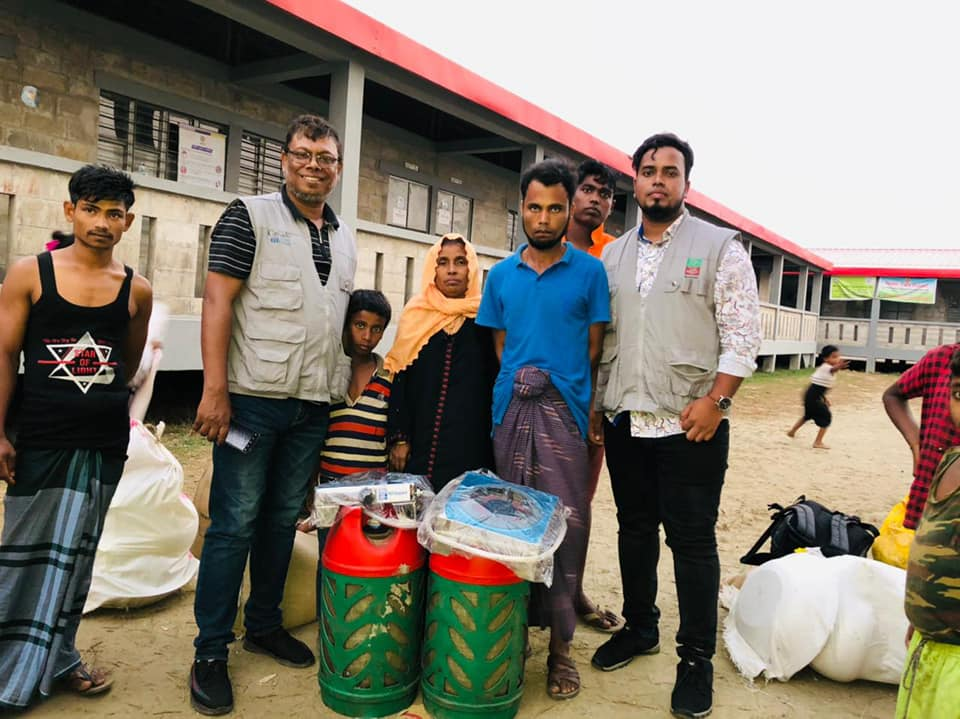 HEED Bangladesh is able to serve the Rohingia people in Vashanchar