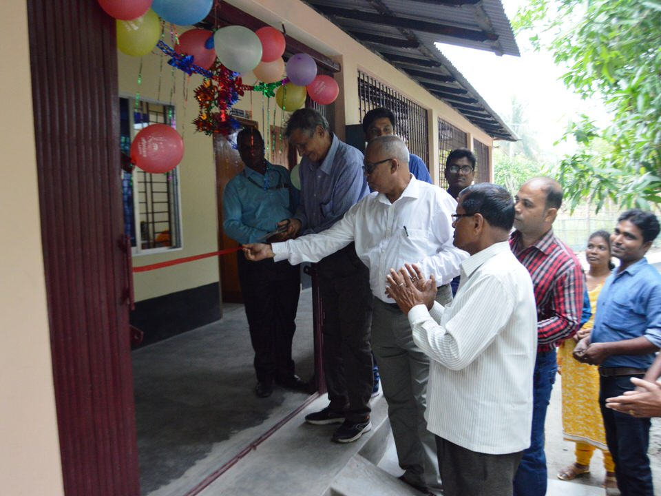 Inauguration of own building at Kamarkhola branch Khulna Area