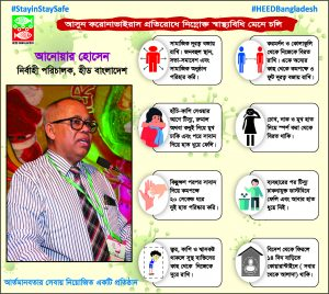 Awareness campaign for Covid-19